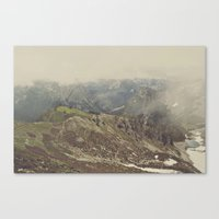 Hit the Trails Canvas Print