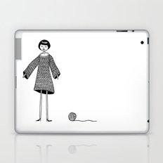 Knitting, gone awry. Laptop & iPad Skin