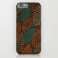 iPhone & iPod Case featuring ORGANIC LEAVES by Wagner Campelo