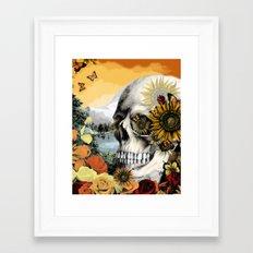 Reflections of Halloween Framed Art Print