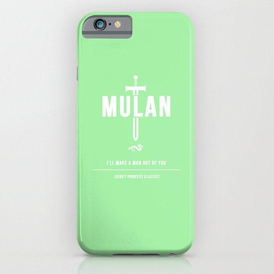 Disney Princesses: Mulan Minimalist iPhone & iPod Case