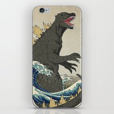 The Great Godzilla Off K… iPhone & iPod Skin