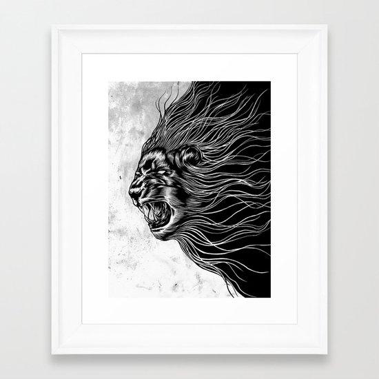 Furious2 Framed Art Print