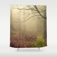 Mindfulness In Nature Shower Curtain