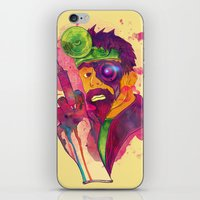 Dr. FraCryStein iPhone & iPod Skin