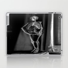 The Skeleton by the Printer Laptop & iPad Skin