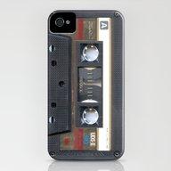 Cassette Gold iPhone (4, 4s) Slim Case