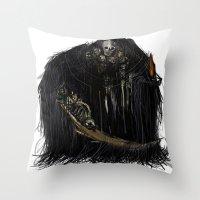 Gravelord Nito - Dark So… Throw Pillow