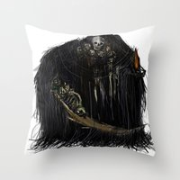 Gravelord Nito - Dark Souls Throw Pillow