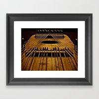 Ukelin Strings Framed Art Print