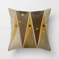 Geometric/Abstract 1 Throw Pillow