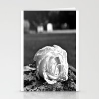 Rose of remembrance Stationery Cards