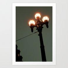 Street Light Art Print