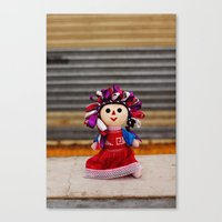 Little Mexican Doll Canvas Print