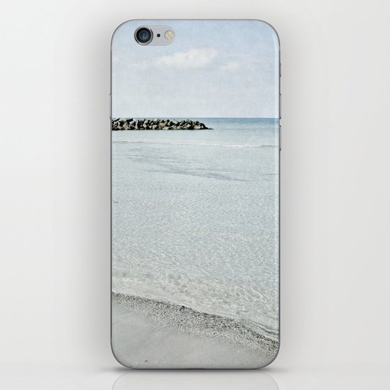 sea square IX iPhone & iPod Skin