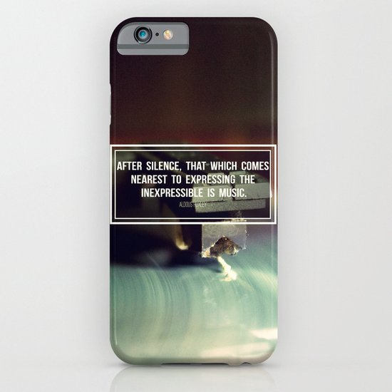 After Silence iPhone & iPod Case