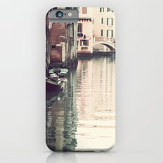 Boats in Venice iPhone 6 Slim Case