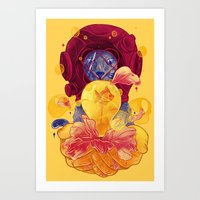 La Lumiere (Yellow) Art Print