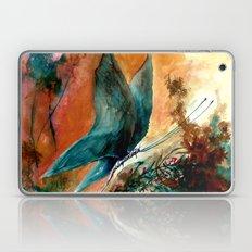 mavi kelebek Laptop & iPad Skin