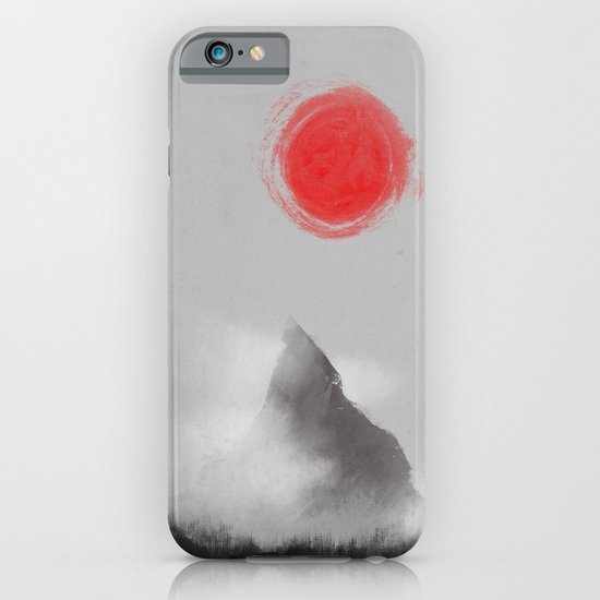 山- Mountain iPhone & iPod Case