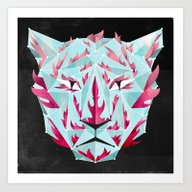 Art Print featuring Thy Fearful Symmetry by Littleclyde