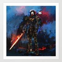 Jon Snow Art Print