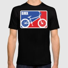 BMX Mens Fitted Tee Black SMALL