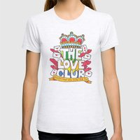 The Love Club Womens Fitted Tee Ash Grey SMALL