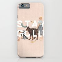 iPhone Cases featuring Stay Gold by Heather Landis
