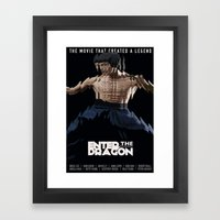 Enter The Dragon Framed Art Print
