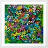 Flower Forest Art Print