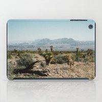 Nevada Desert Scene iPad Case