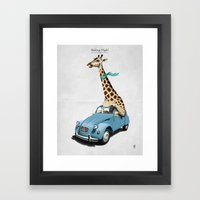 Riding High! Framed Art Print
