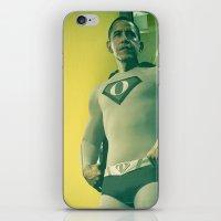 super obama iPhone & iPod Skin