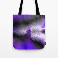 Eye Purple Tote Bag