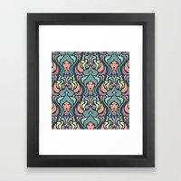 Psy Garden Framed Art Print