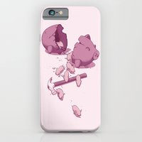iPhone & iPod Case featuring Piggy Bank by Flying Mouse 365