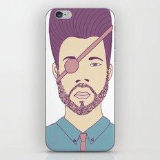 Captain Andrew iPhone & iPod Skin