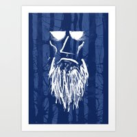 Old Man Of The Woods Art Print