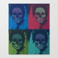 Naked Masks Canvas Print