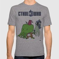 Cthul'Who Mens Fitted Tee Athletic Grey SMALL