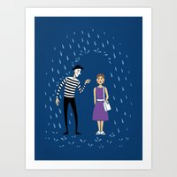 A Helping Hand Art Print