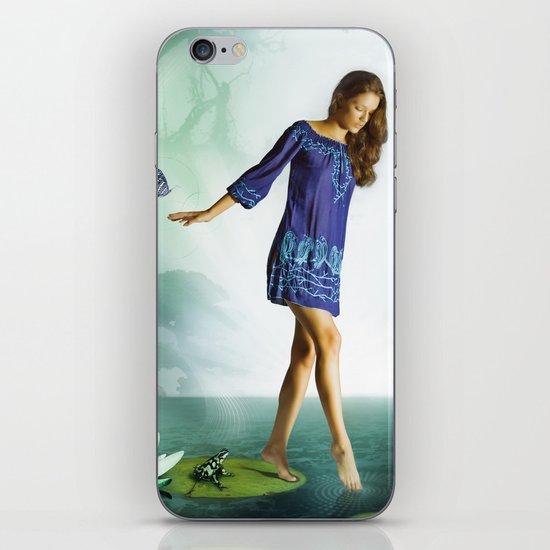 The Lili & The Frog iPhone & iPod Skin