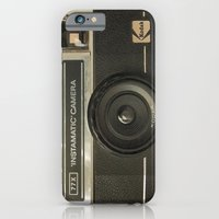 camera iPhone & iPod Cases featuring CAMERA by Monika Strigel