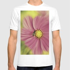 Hoverfly in the Pink Mens Fitted Tee White SMALL