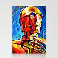 C3P0 Stationery Cards