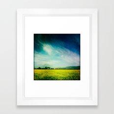 Gilroy, CA Framed Art Print