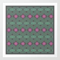 Pattern_03 [CLR VER I] Art Print