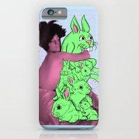 Bunny Pile iPhone 6 Slim Case