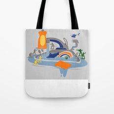 Sink Sank Sunk Tote Bag